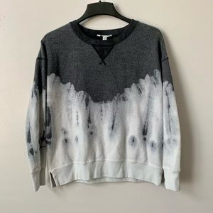 AEO Pullover Fleece Tie Dye Sweatshirt